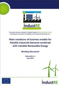Business Models for Flexible Industrial Demand combined with Variable Renewable Energy
