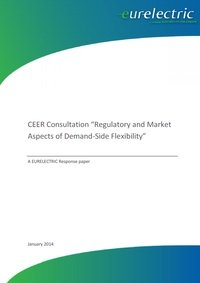 "EURELECTRIC Response to CEER Consultation ""Regulatory and Market Aspects of Demand-Side Flexibility"""