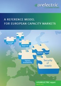 A reference model for European capacity markets