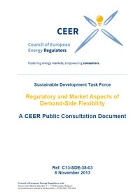 Regulatory and Market Aspects of Demand-Side Flexibility - A CEER Public Consultation Document