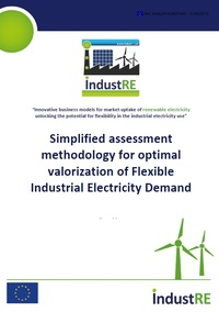 Simplified methodology for optimal valorization of Flexible Industrial Demand