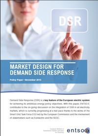Policy Paper on Market Design for Demand Side Response