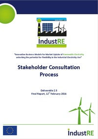 Stakeholder Consultation Process
