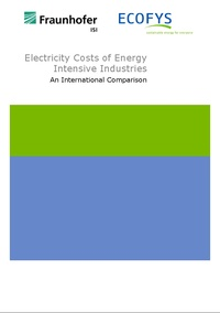 Electricity Costs of Energy Intensive Industries