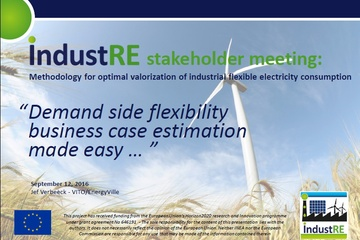 Webinar: Flexibility potential of industrial plants