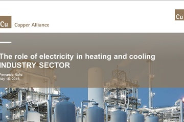 The role of electricity in the Heating and Cooling Strategy